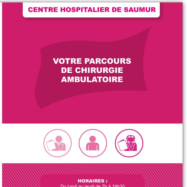 ignis agence de communication passeport ambulatoire centre hospitalier de saumur. Black Bedroom Furniture Sets. Home Design Ideas